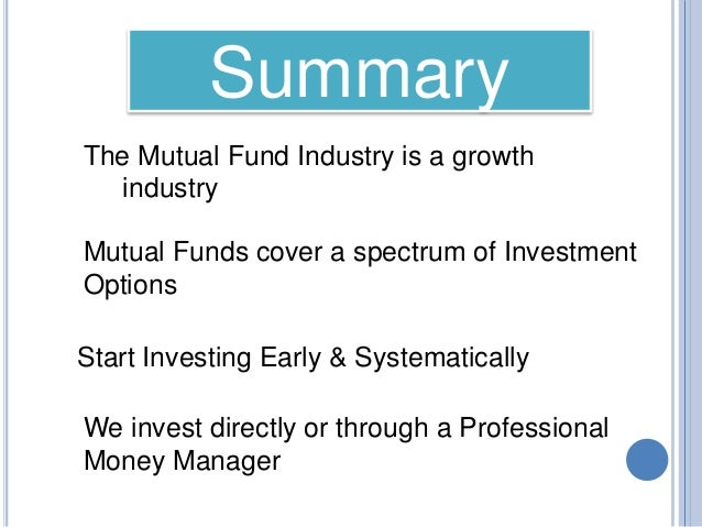 synopsis investment and mutual fund A list of transamerica mutual funds  bonds, alternative investments, and  similar assets investing involves market risk, including the possible loss of  principal.