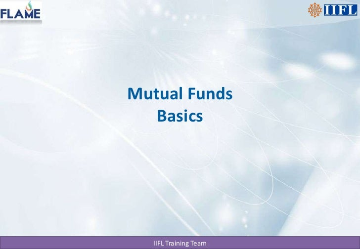 Mutual Funds Basics<br />