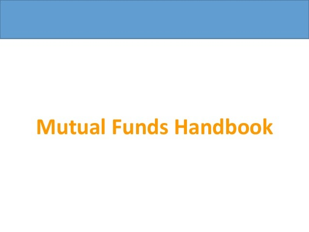 Mutual Funds Handbook