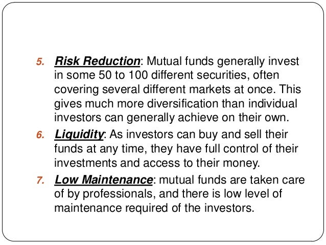 How do mutual funds work?