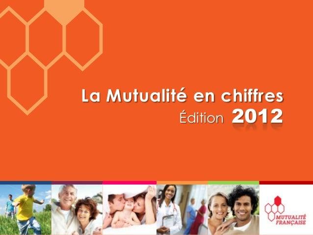 La Mutualité en chiffres           Édition   2012