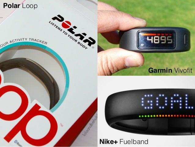 Garmin Vivofit Nike+ Fuelband Polar Loop