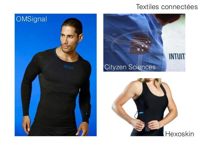 Cityzen Sciences OMSignal Hexoskin Textiles connectées