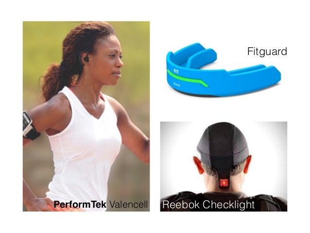PerformTek Valencell Fitguard Reebok Checklight