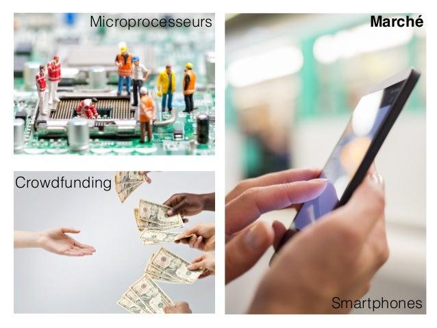 Smartphones Crowdfunding Microprocesseurs Marché