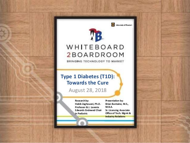 MU Type 1 diabetes (T1D): Towards the Cure