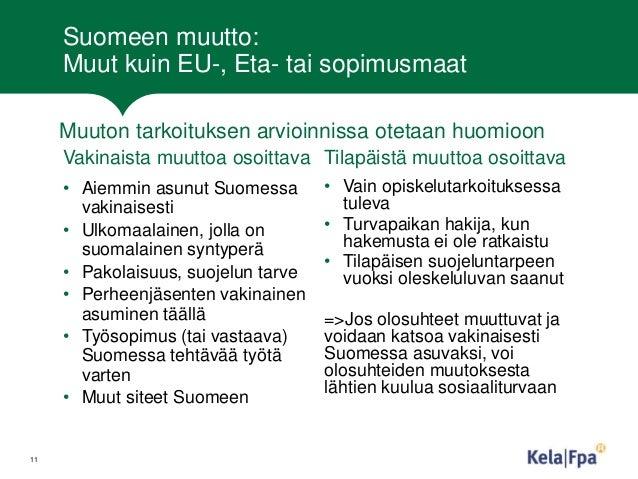 Ulkomaalaisen Puolison Muutto Suomeen