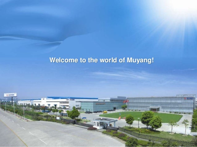Welcome to the world of Muyang!
