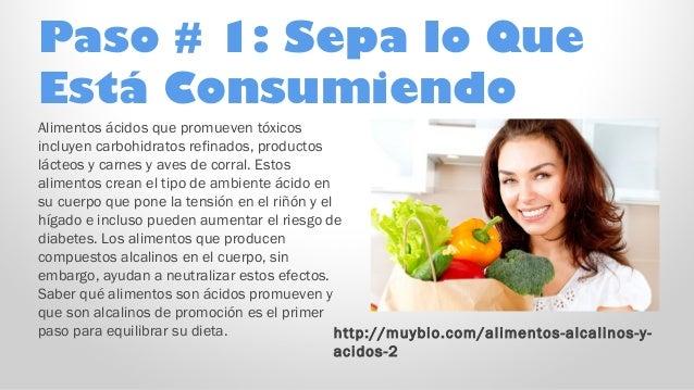 Alcalino plan de alimentos - Alimentos que suben la tension ...