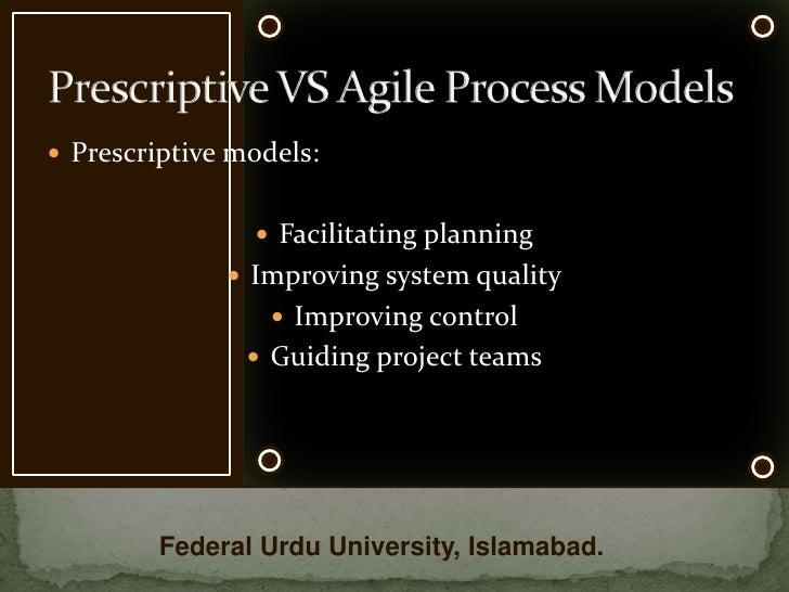 prescriptive planning