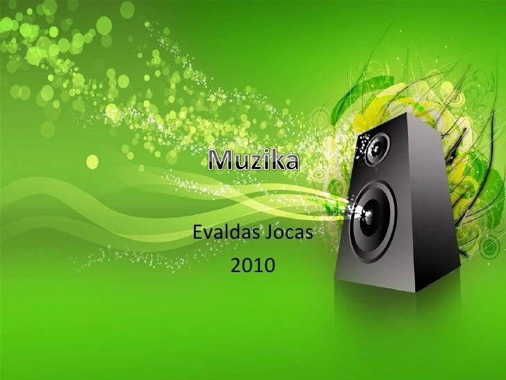 Evaldas Jocas 2010