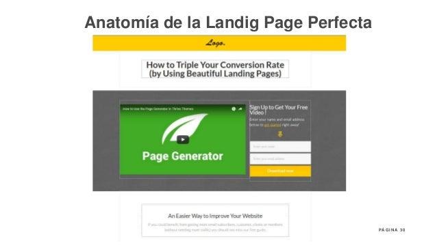 30P Á G I N A Anatomía de la Landig Page Perfecta