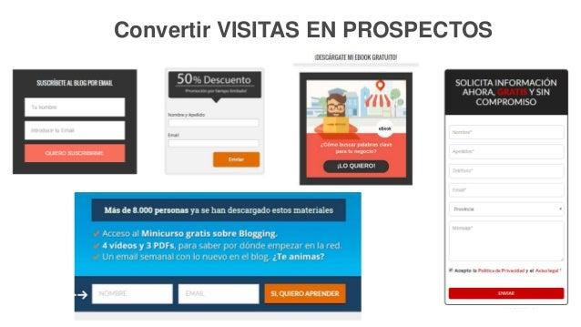 31P Á G I N A Convertir VISITAS EN PROSPECTOS