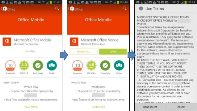 Mva configure mobile devices for office 365 - Office for mobile devices ...