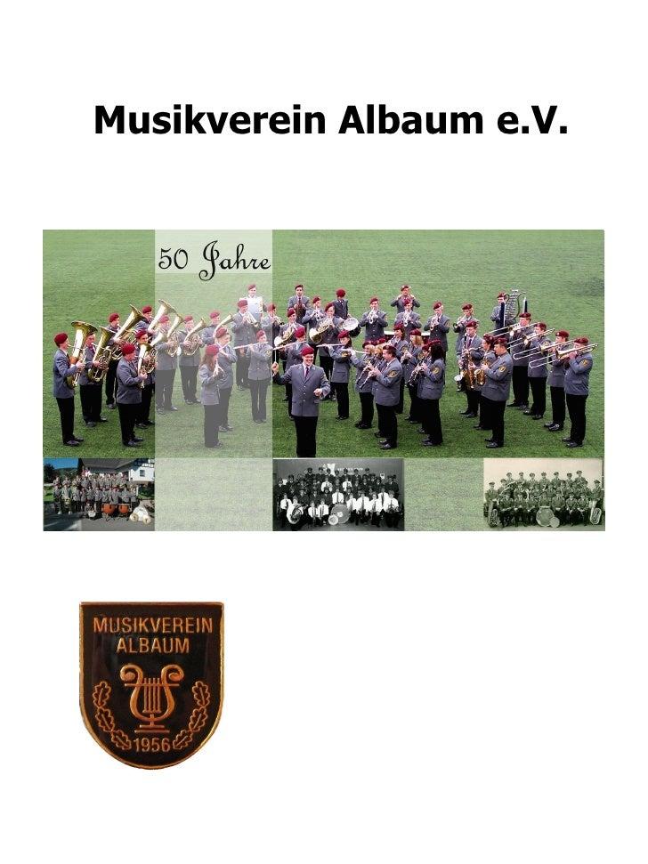 Musikverein Albaum e.V.