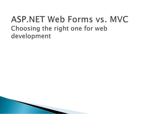 Quick look into Visual Studio 2010 SP1  ASP.NET 4 Web Forms  MVC 3 with Razor  Using Web Forms and MVC together  Sce...