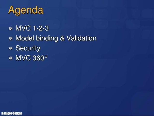Slide Workshop Commit University ASP.NET MVC Slide 3