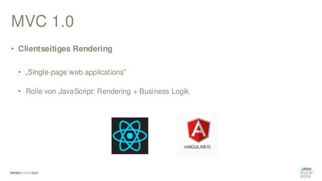 "Bsp.: ReactJS • HTML <!DOCTYPE html> <html> <body> <div id=""app""></div> <script src=""${mvc.contextPath}/resources/dist/jav..."