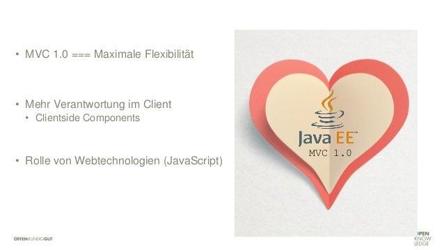 MVC 1.0: Zeitgemäße Webanwendungen in JavaEE