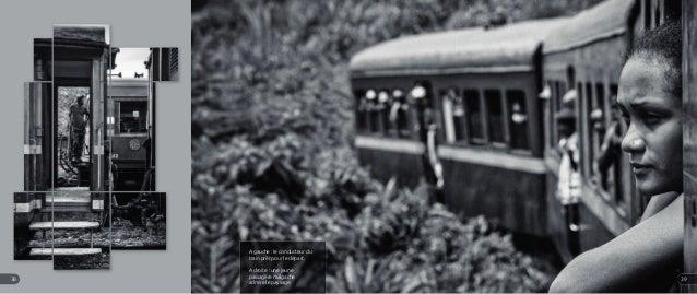 A gauche : le conducteur du train prêt pour le départ. A droite : une jeune passagère malgache admire le paysage. 3938
