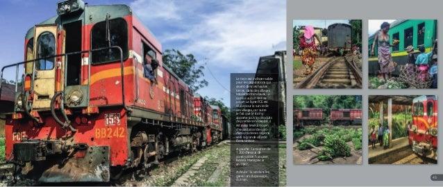 Anakao Le train est indispensable pour les populations qui vivent dans les hautes terres, dans des villages totalement enc...