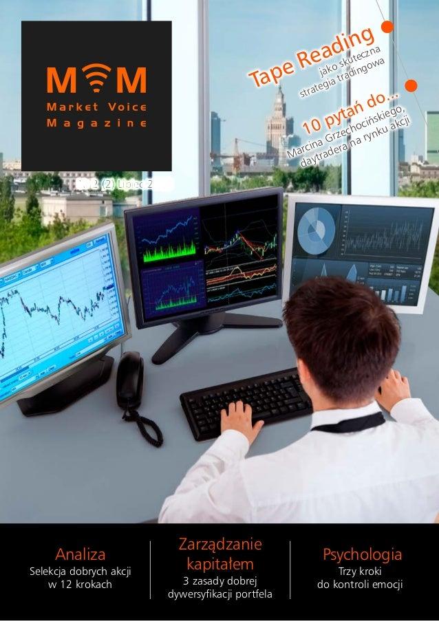 Tape Reading jako skuteczna strategia tradingowa 10 pytań do... Marcina Grzechocińskiego, daytradera na rynku akcji Analiz...