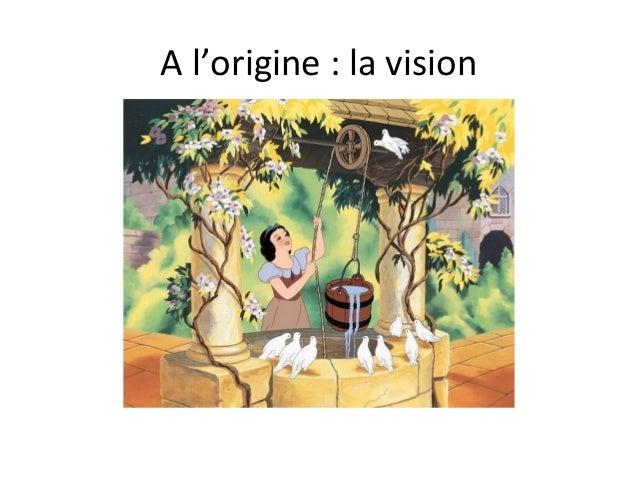 A l'origine : la vision