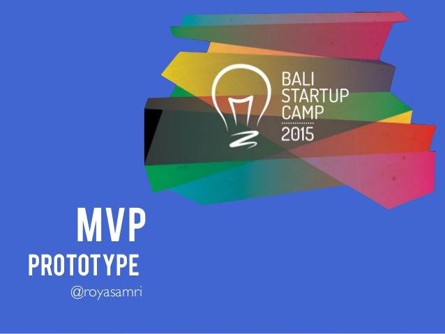 MVP MVP PROTOTYPE @royasamri