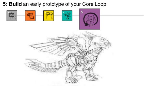 5: Build an early prototype of your Core Loop  6