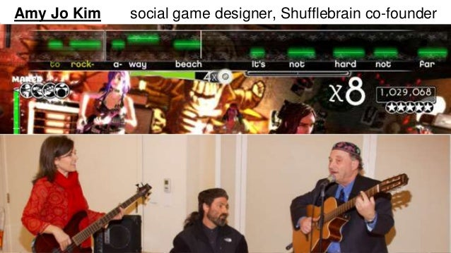 Amy Jo Kim social game designer, Shufflebrain co-founder  Hi - I'm Amy Jo Kim, Social Game Designer & Co-founder of  Shuff...