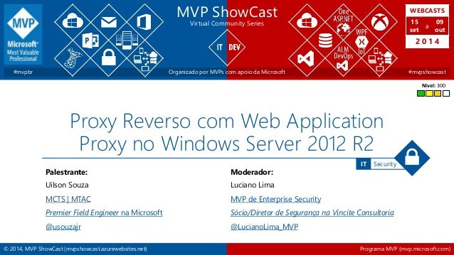 WEBCASTS  15  set  2 0 1 4  IT Security  MVP ShowCast  Virtual Community Series  a  09  out  #mvpbr Organizado por MVPs co...