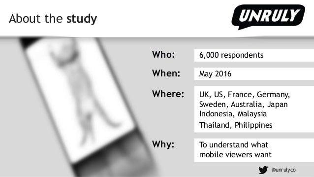 Unruly Mobile Video Survey Slide 2