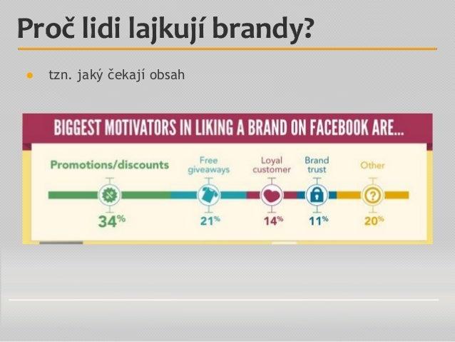 ● tzn. jaký čekají obsah Proč lidi lajkují brandy?