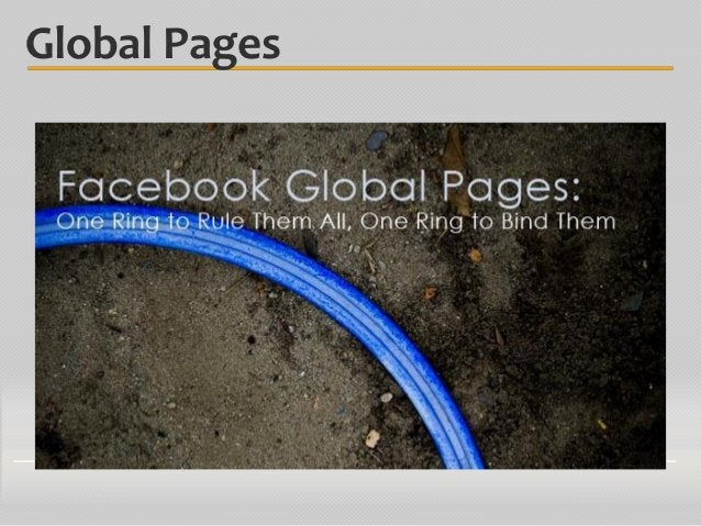 Global Pages