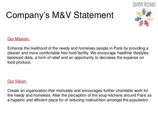 Soup Kitchen Mission Statement