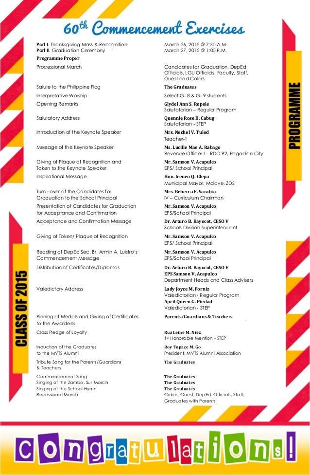Mvts Graduation Programme
