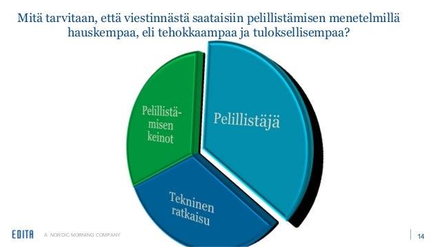 A NORDIC MORNING COMPANY 17 Kiitos mielenkiinnosta! • Kalle Huhtala, kehitysjohtaja • kalle.huhtala@edita.fi • 040 860 251...