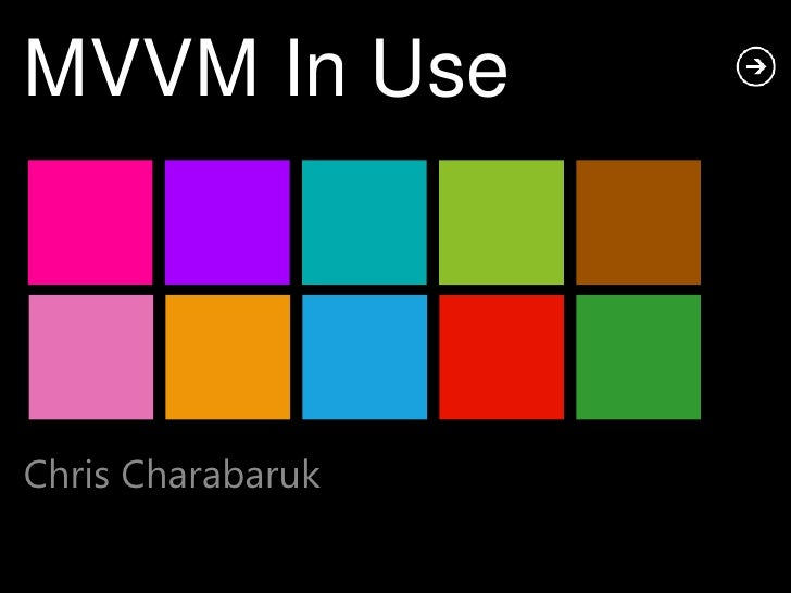 MVVM In UseChris Charabaruk