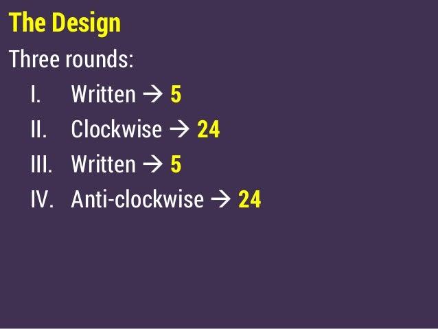 Mega-Whats 2015 Face-off - Finals Slide 3