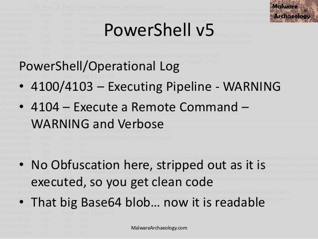 You can detect PowerShell attacks
