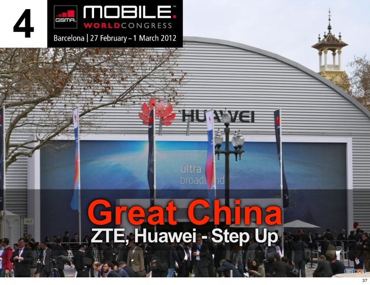 4    Great China    ZTE, Huawei - Step Up                            37