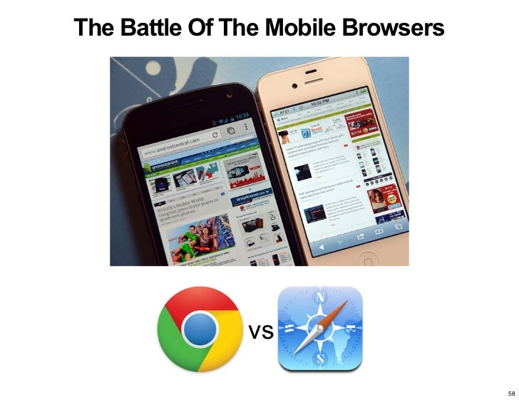 The Battle Of The Mobile Browsers                                    58