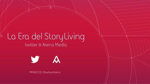 MarketingofThings RobertHernandez– Transmedia Strategist La Era del StoryLiving twitter & Arena Media #MWC2018twitterA...