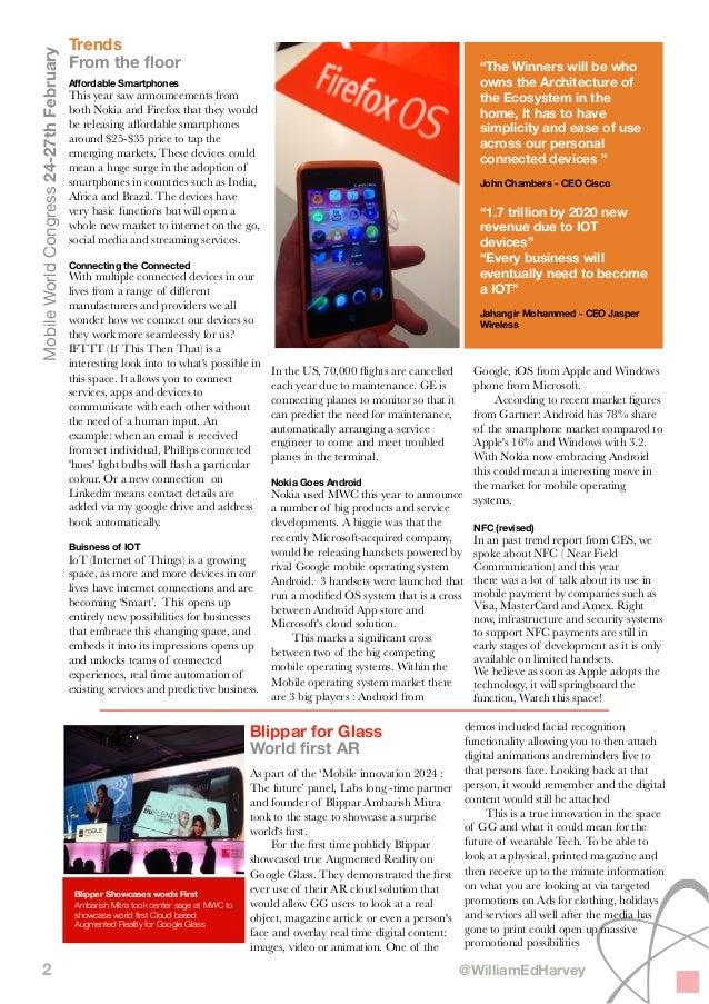 Mobile World Congress - Ogilvy Labs Report Slide 2