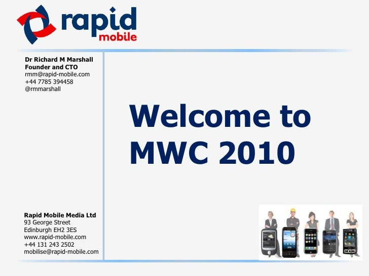 Welcome toMWC 2010<br />
