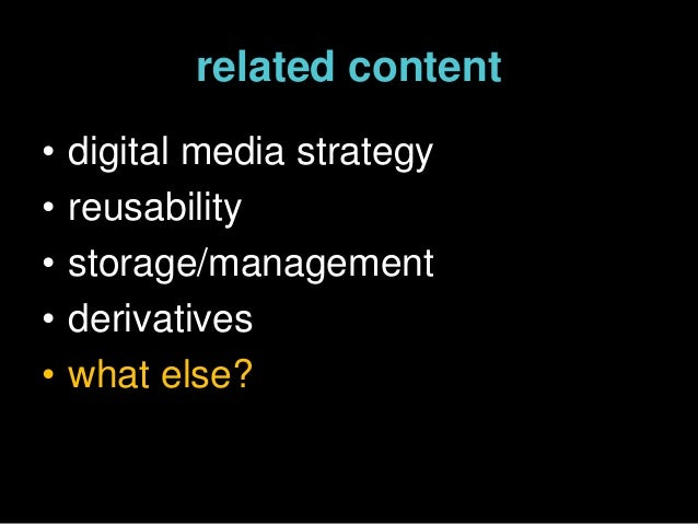 Content Managment, Content on Demand (Museums and the Web at Cleveland Museum of Art)