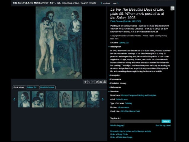 The Collection Wall: The Road to Digital Capture  (Museums and the Web at Cleveland Museum of Art)