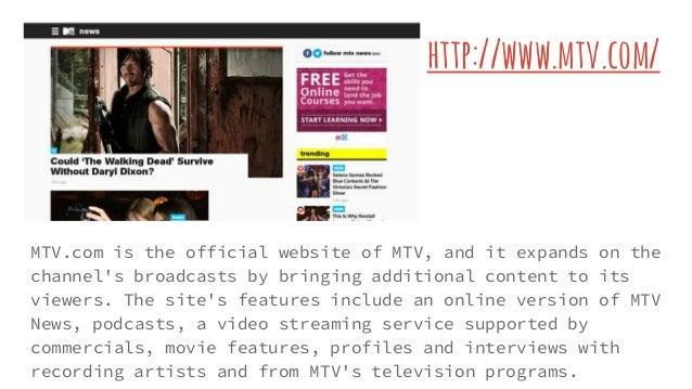 Mtv Official Website
