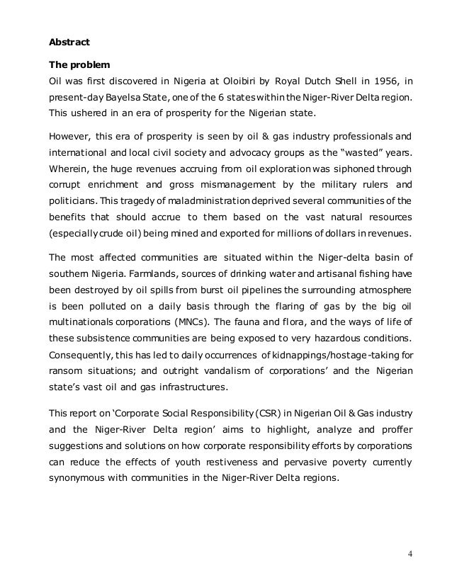 shell oil and its stakeholders in nigeria essay The chart above also shows the deadly relationship between stakeholders in terms of oil production the table shows that the delta state was the most volatile state where oil is produced due to the confrontation between militant groups driven by self-determination driven militant groups and the security forces.