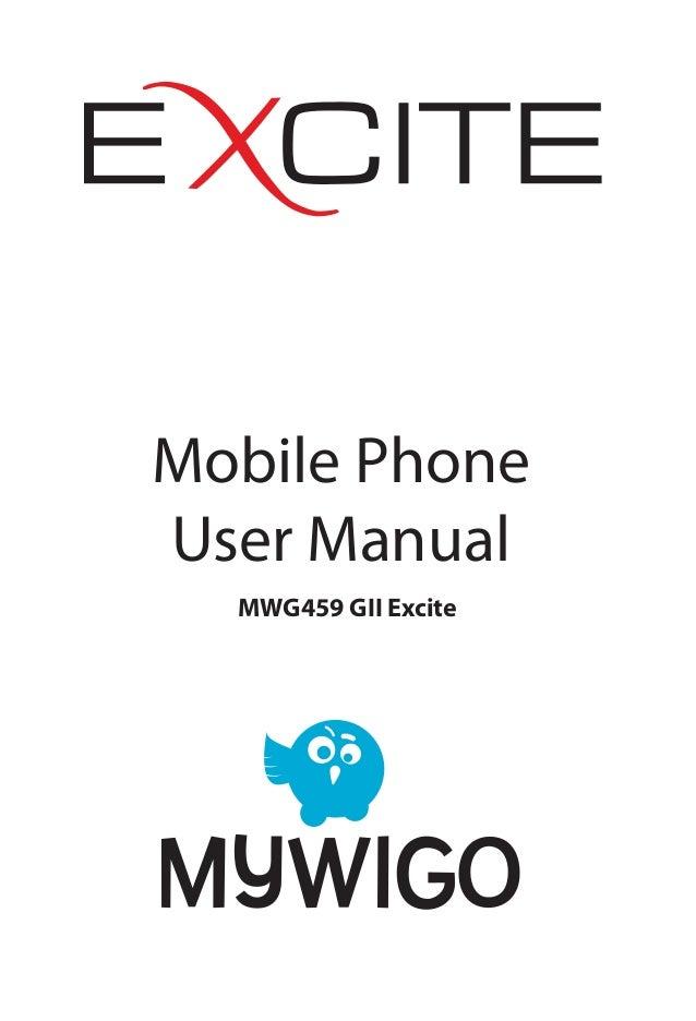 MyWiGo Excite II User Manual